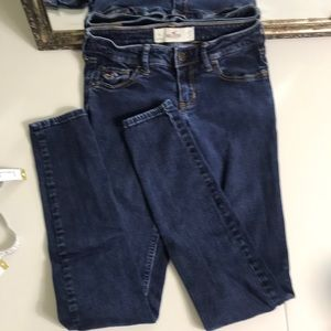 Hollister skinny jeans Sz 1
